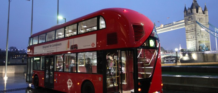 Red Routemaster London Bus